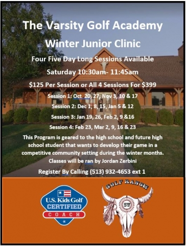 VGA Winter Junior Clinic