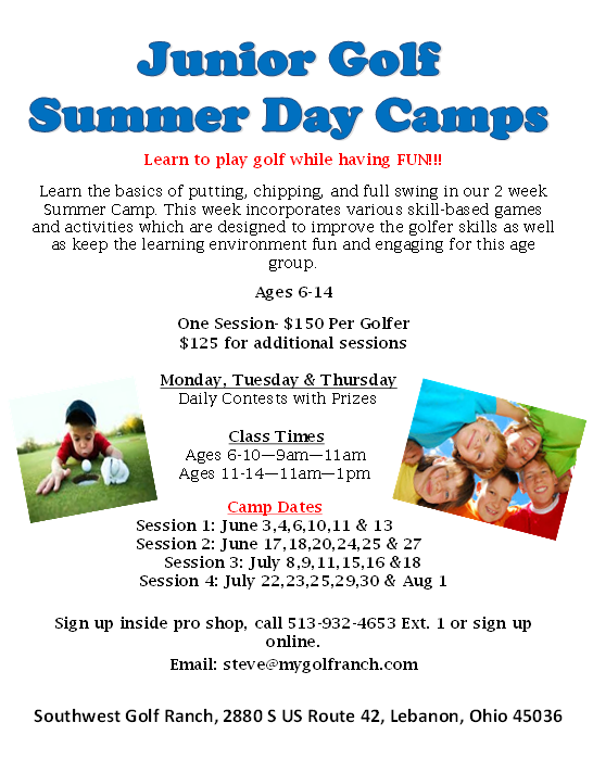 2019 Summer Day Camps