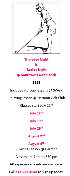 ladies group lesson flyer 2