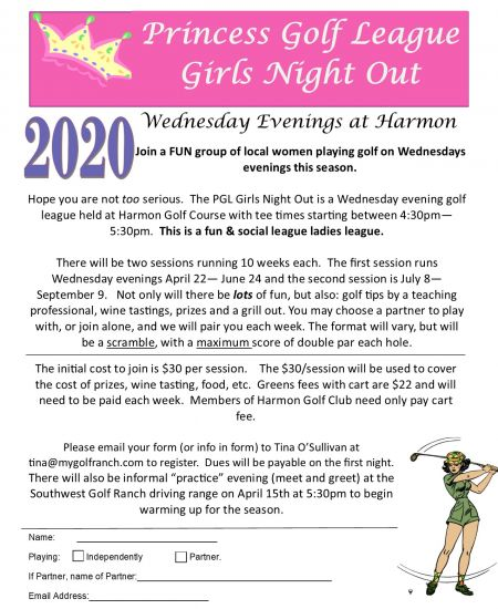 Wednesday Night Ladies League