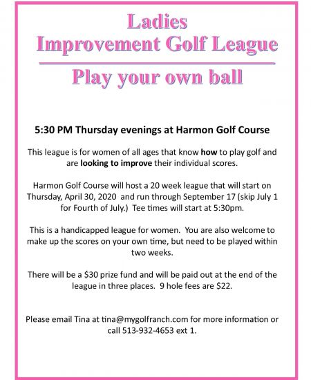 Thursday Night Ladies League